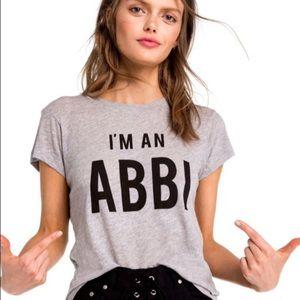 Wildfox Broad City I'm An Abbi No. 9 Tshirt New